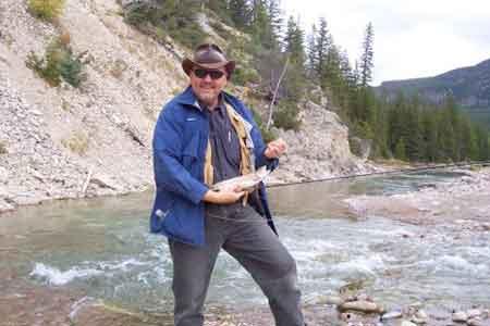 Fishing in Bob Marshall Wilderness